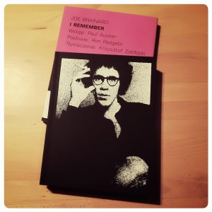 I remember – JOE BRAINARD
